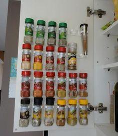 Trendy kitchen organization ideas spices tips Kitchen Furniture, Kitchen Interior, New Kitchen, Kitchen Decor, Kitchen Organization, Kitchen Storage, Kitchen Racks, Organization Ideas, Beautiful Kitchen Designs