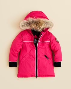 Stop it. (Canada Goose Infant Girls' Reese Parka - Sizes 6-24 Months | Bloomingdale's)