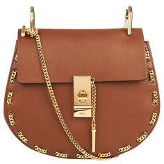 Chloe Mini Chain Drew Bag found on Polyvore