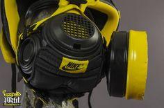 wu tang sneaker gas masks freehand profit 05 570x377 Nike + Air Jordan Wu Tang Tribute Gas Masks by Freehand Profit