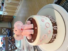 It's a girl baby shower cake from Sinful Sweets For Your Thighs Only