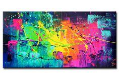 Acrylmalerei - ESCAPADE Gemälde Bild moderne Kunst - ein Designerstück von acryliks bei DaWanda