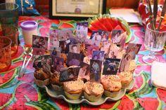 50th birthday cupcakes.