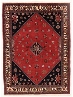 Tapis persans - Shiraz Kashkoli Sherkat  Dimensions:236x175cm
