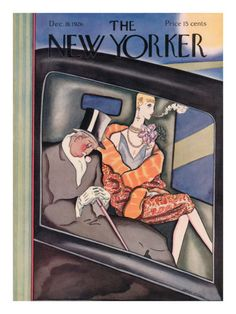 The New Yorker Cover - December 18, 1926 .