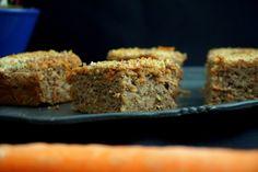 Glutenfrei, laktosefrei, ohne Zucker: Karotten-Apfel-Walnuss Kuchen mit Buchweizenmehl