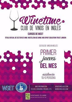 ¿Existe mejor manera de aprender Inglés? Vintage Class, en Aranda de Duero, estrena una fabulosa iniciativa. Cursos de WSET - Club de #Vinos en Inglés ¡Y el Primer Jueves de cada mes, catas!