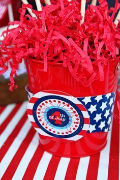Amandas Parties TO GO: FREE July 4th Printables Set