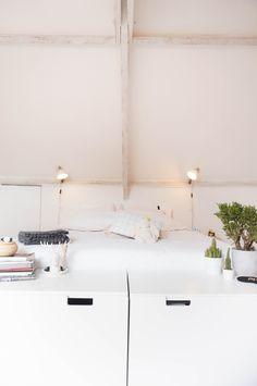 our bedroom - more on my interior blog: www.ergenstussenin.be