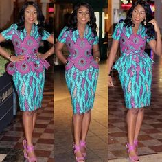 African Fashion: Creative, Trendy and Stylish Ankara Latest Styles Ankara Latest Styles. In search for unique and on trend African fashion clothing? Latest African Fashion Dresses, African Print Dresses, African Dress, Women's Fashion Dresses, Ankara Fashion, Fashion Styles, African Wear, African Prints, African Style