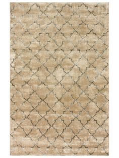 Tristen Trellis Hand-Knotted Rug by nuLOOM at Gilt