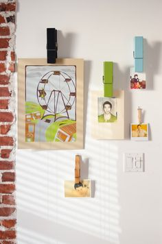 1000 Ideas About Clothespin Photo Displays On Pinterest