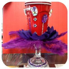 The Red Hat Society's blinged out Red Solo cup