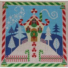 HOLIDAY WHIMSEY HOUSE
