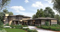 Above And Beyond II On Basement - 23550JD | Architectural Designs - House Plans