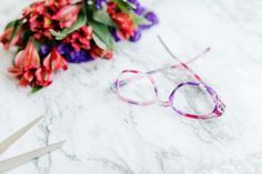 Welcome, spring. We've missed you! 💐 👓: The Helena Bifocal Glasses Trends, What's Trending, Frost, Lenses, Polka Dots, Spring, Floral, Pattern, Lentils