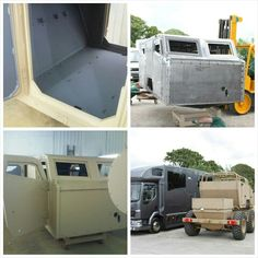 Commercial  spraying from #horseboxes to armoured trucks.