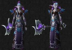 Cloth / Armor usable by all Head: [Hood of Focused Energy] Shoulder: [Shadowmoon Shoulderguards] Chest: [Blanketing Robes of Snow] Hands: [Ebonweave Gloves] Waist: [Lingering Illness] Feet: [Frostfire Sandals] Staff: [Communal Stave] - Priest...