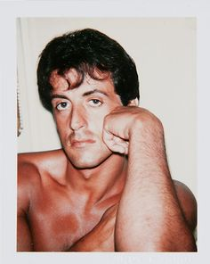Warhol Photography: Sylvester Stallone