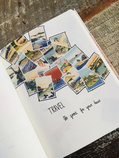 43 best Ideas for travel scrapbook ideas inspiration Plakboeken ideeën Travel Journal Scrapbook, Bullet Journal Travel, Bullet Journal Inspiration, Travel Journals, Travel Books, Bullet Journals, Travel Journal Pages, Travel Luggage, Travel Bag