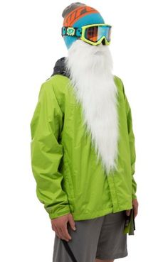 Beardski Merlin Face Mask, One Size, White Beardski  - $32