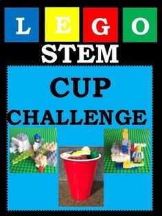 In this LEGO STEM Challenge students will build a creation with a cup full of LEGOS. In the activity students will estimate the amount of LEGOS in their cup, count the exact amount and be creative! You may decide on giving students a specific thing to build (such as a shelter for a LEGO mini figure ...