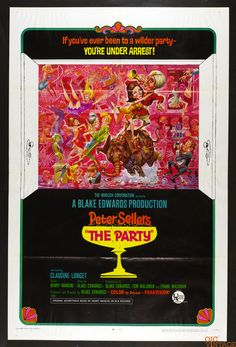 The Party 1968 Vintage 27x41 Poster 1 sheet
