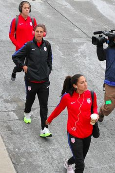 Christen Press, Carli Lloyd & Kelley O'Hara
