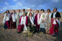 13 Indigenous Grandmothers    The International Council of 13 Indigenous Grandmothers, a group of women who form an international alliance of indigenous female elders.   The Grandmothers are concerned for the state of the world, and all living in it. They believe that the need for change is urgent; and many consider their formation a fulfillment of ancient prophecy.