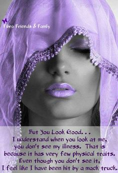 Invisible Illness / Learning to live with lupus / chronic illness