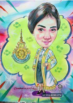 การ์ตูนล้อเลียนในแบบรับปริญญาก็มี นะครับ  Tel. true .097-065-6778 --AIs 094-919-5274 ID..Line.. Artkrao418 IG.. Artkrao Facebook. Artkrao #artist #จิตรกร #ของขวัญ #ของขวัญรับปริญญา #ของขวัญจบปริญญา #ของที่ระลึก #ของขวัญวันเกิด #ของขวัญวันครบรอบ #ของขวัญวันแต่งงาน #รับวาดรูป #รับวาดภาพเหมือน #ของขวัญวันวาเลนไทน์ #รับวาดภาพ #ภาพลายเส้น #DRAWING #รับปริญญา #รับวาดภาพเหมือนลายเส้น #รับวาภาพสีชอล์ค #รับวาดภาพคาร์บอน #pastel…