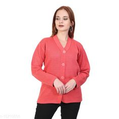 Sweaters BlushhCollection Women Winter Full Sleeve Cardigan (Pack Of 1) Fabric: Wool Sleeve Length: Long Sleeves Multipack: 1 Sizes:  XL (Bust Size: 36 in Length Size: 25 in)  L (Bust Size: 36 in Length Size: 25 in)  M (Bust Size: 36 in Length Size: 25 in) Country of Origin: India Sizes Available: S, M, L, XL, XXL *Proof of Safe Delivery! Click to know on Safety Standards of Delivery Partners- https://ltl.sh/y_nZrAV3  Catalog Rating: ★4 (2403)  Catalog Name: Classy Latest Women Sweaters CatalogID_1967872 C79-SC1026 Code: 892-10710893-
