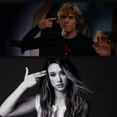 Evan Peters & Taissa Farmiga