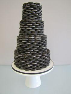 Oreokeksz menyasszonyi torta 5 , Oreocake wedding cake 5