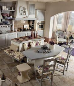 Cucine stile shabby : cucine in muratura stile shabby. cucine ...