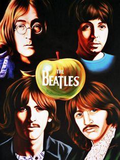 The Beatles, Hector Monroy. $1,999.00