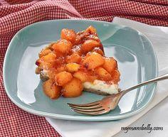 Peach dessert recipes - peach tart