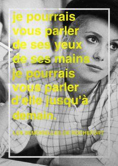Les Demoiselles de Rochefort Catherine Deneuve Jacques Demy by lespetitesrobesnoires.com #phoster