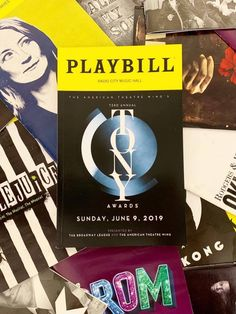 When it comes to Broadway's biggest night, of course you'll need the official Tony Awards Playbill! Dreams And Visions, Radio City Music Hall, Big Night, First Class Shipping, Bat Mitzvah, Theatre, Musicals, Random Stuff, Broadway Shows