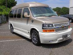 2013 2WD Chevrolet Express Explorer Luxury Conversion Van Demo