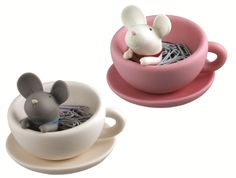 Teatime Paper Clip Mouse Cup