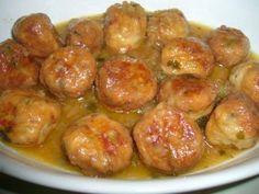 Albóndigas de Pescado en salsa de cúrcuma y cebolla - Recetas Judias