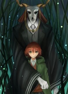 Image result for Ancient Magus Bride art love