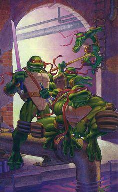 Teenage Mutant Ninja Turtles by Michael Dooney