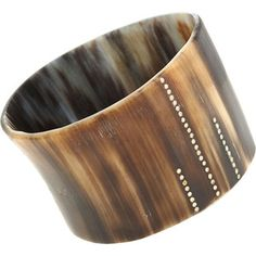 Monique Pean Buffalo Horn Bangle