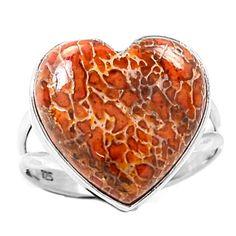 Dinosaur-Bone-925-Sterling-Silver-Ring-Jewelry-s-10-SR106950