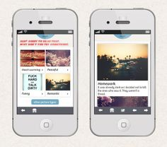TapSwipe App by Alina Kotova, via Behance