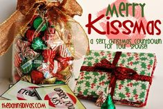 Merry KISSmas - spouse 12 days of Christmas. www.TheDatingDivas.com #Spouse12daysofChristmas #12daysofChristmas #ChristmasSpouse