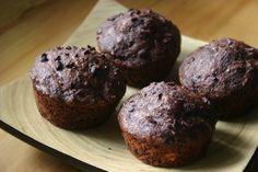 sourdough chocolate muffins