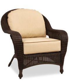 Monterey Wicker Outdoor Lounge Chair